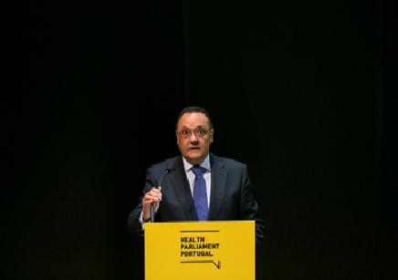 Sr. Secretário de Estado da Saúde, Dr. Manuel Delgado