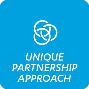 Unique partnership approach