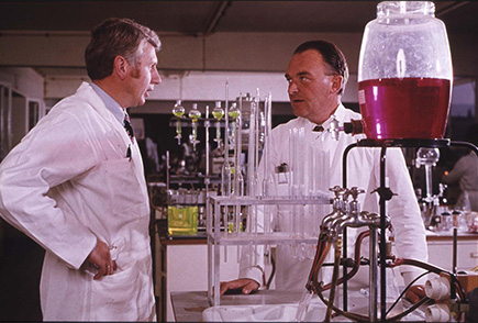 Dr. Paul Janssen, laboratory work