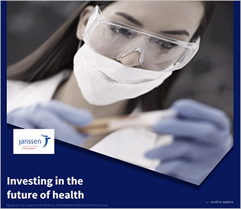 """""""Investing in the future of health"""""""