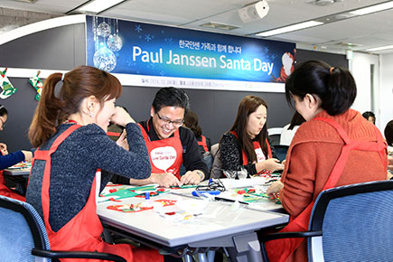 Paul Janssen Scholarship Fund Santa Day