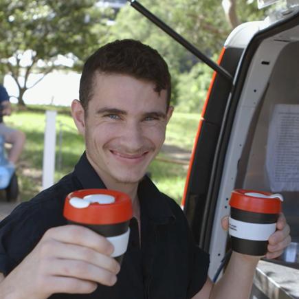 Café community worker