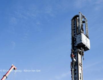 Boortoren Beerse voor Geothermieproject