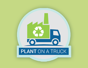 Plant on a Truck