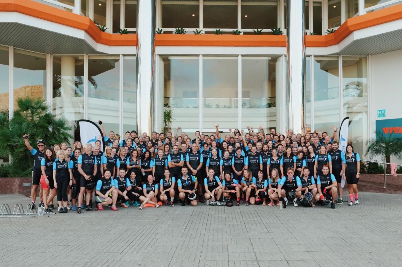 Cycling For Children 2019 - group image
