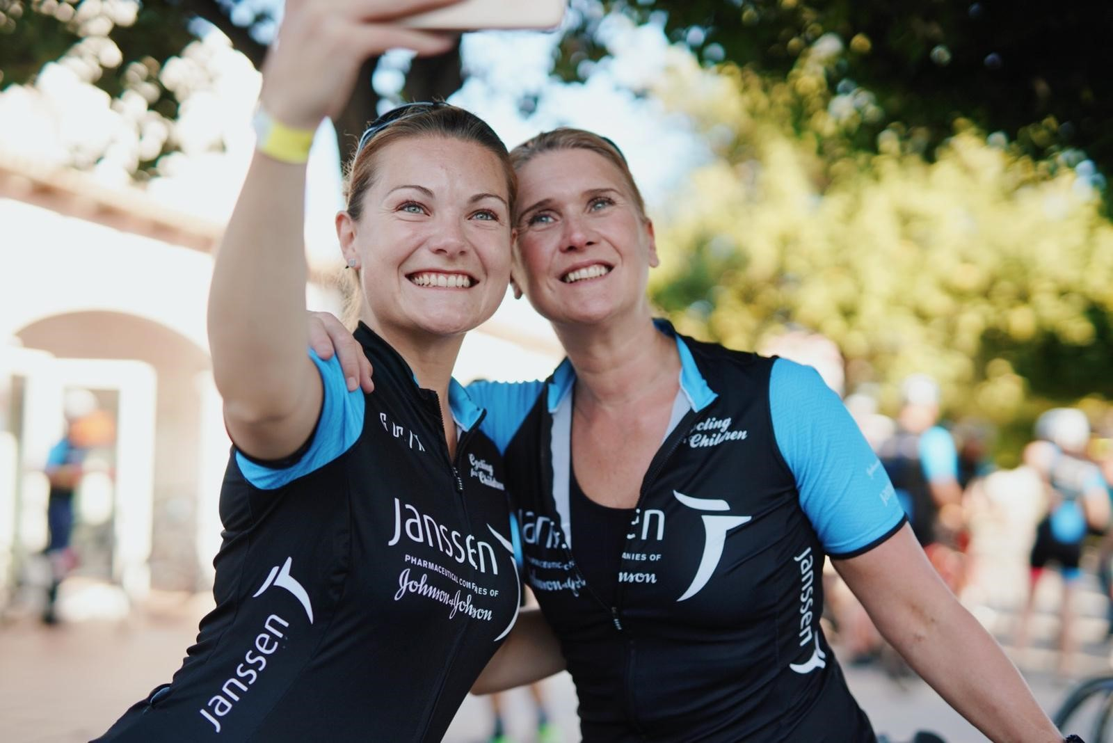 Cycling For Children 19 selfie