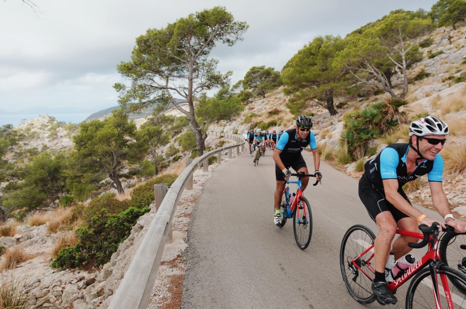 Cycling For Children 19 - climb