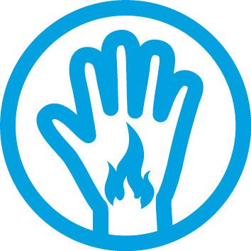 Typische Anzeichen einer Psoriasis: Brennen der Haut