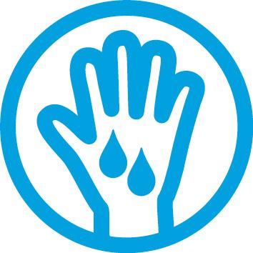 Typische Anzeichen einer Psoriasis: Blutung der Haut