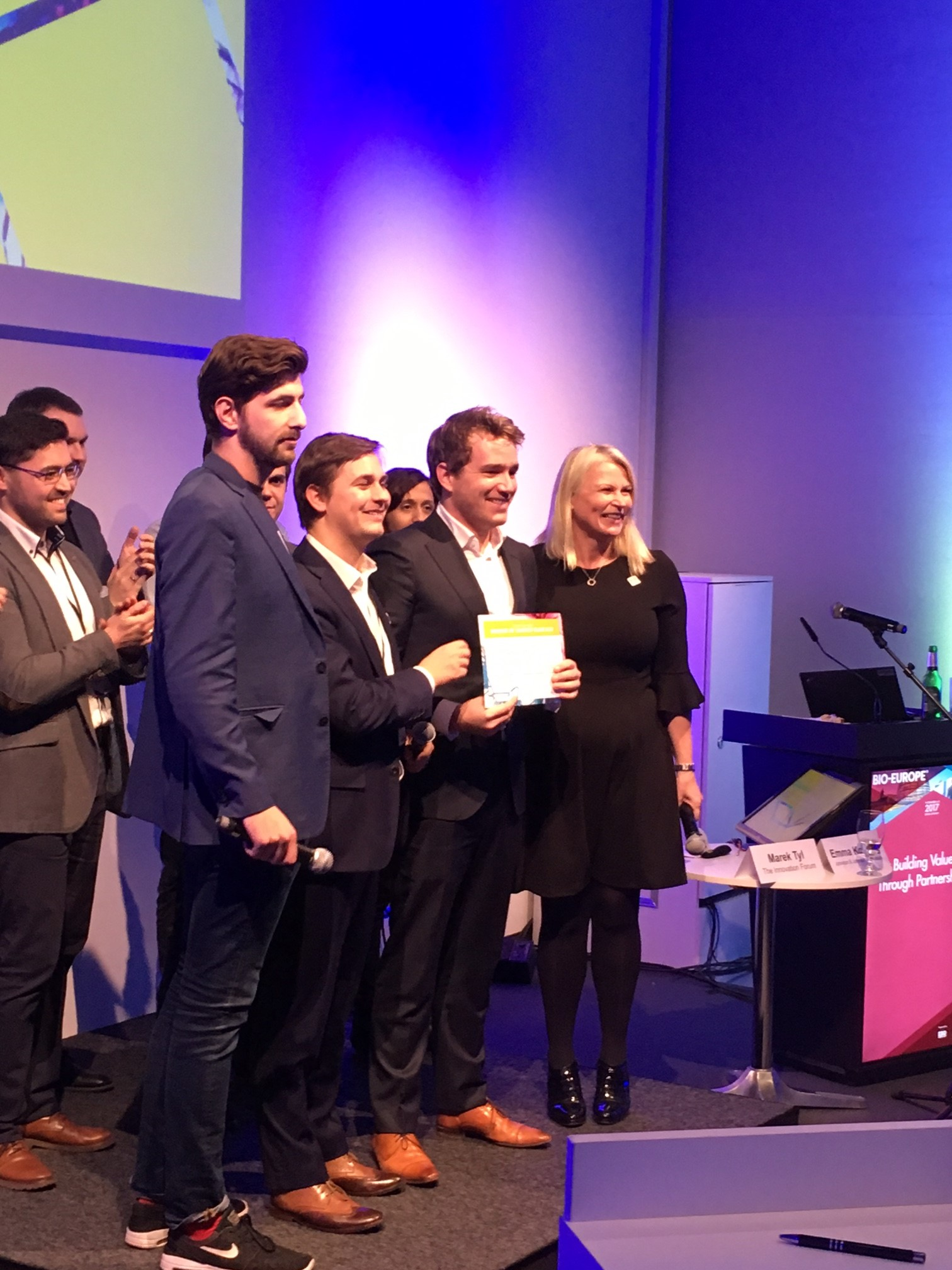 Gewinner Startup Slam