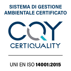 Certificazione ISO 14001:2015 n°25665