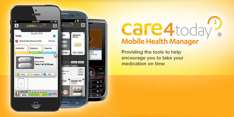 Care4Today® App Health Manager