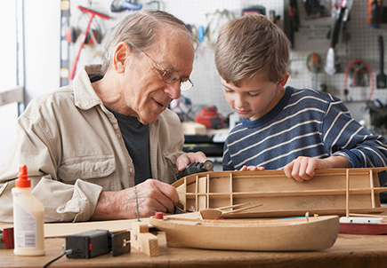 Building a model  together
