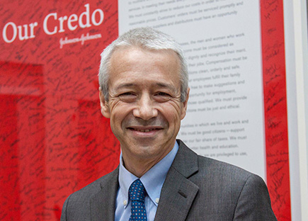 Joaquin Duato with Our Credo