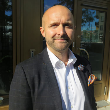 Martin Johansson, medicinsk chef på Janssen Sverige.