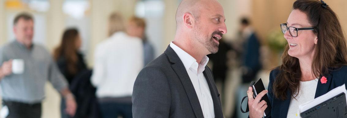 Janssen på plats i Almedalen 2019